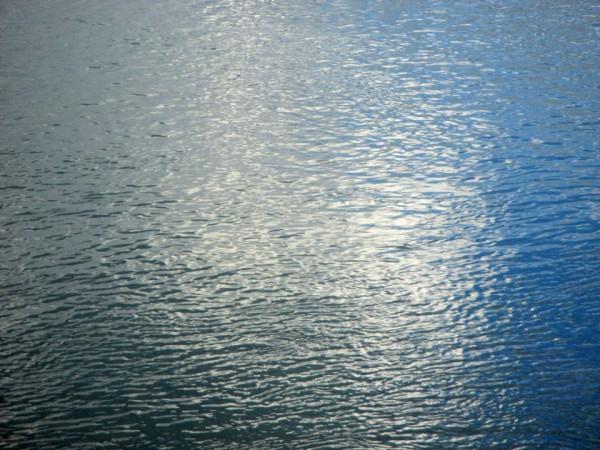 То ли море, то ли обои - а это речка Уфимка